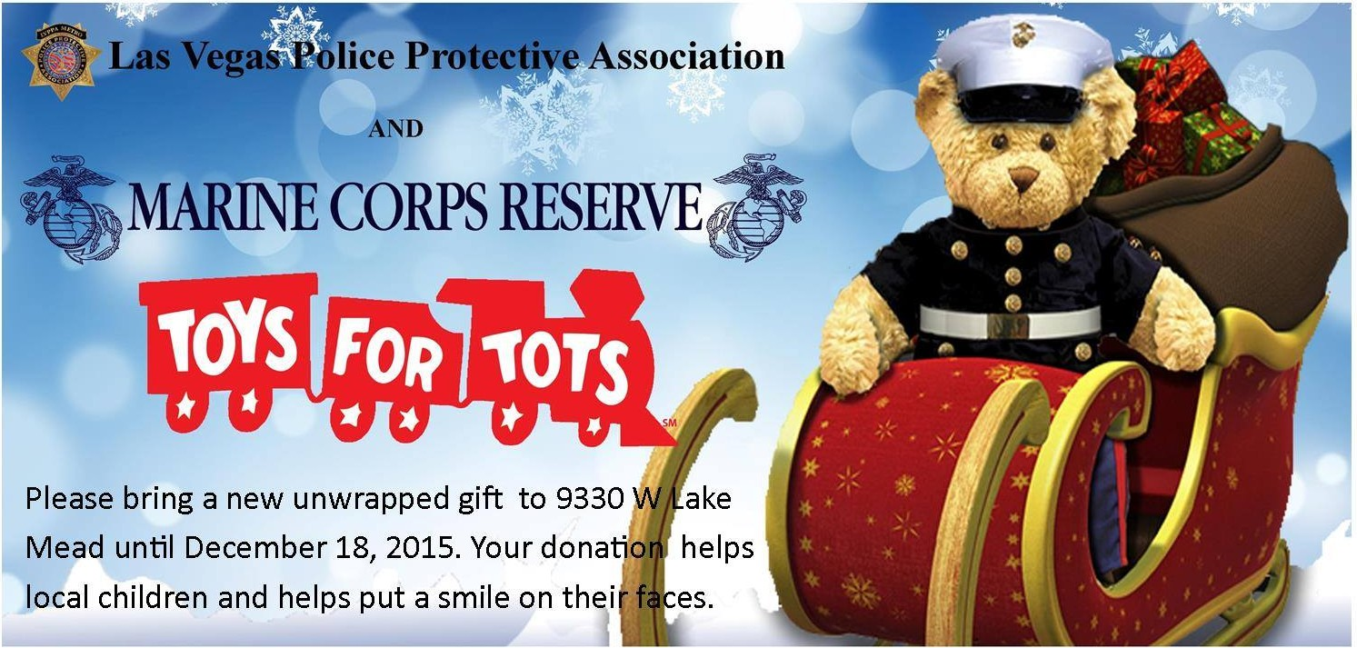 Las Vegas Toys For Tots : Lvppa and the marine corps reserves toys for tots las