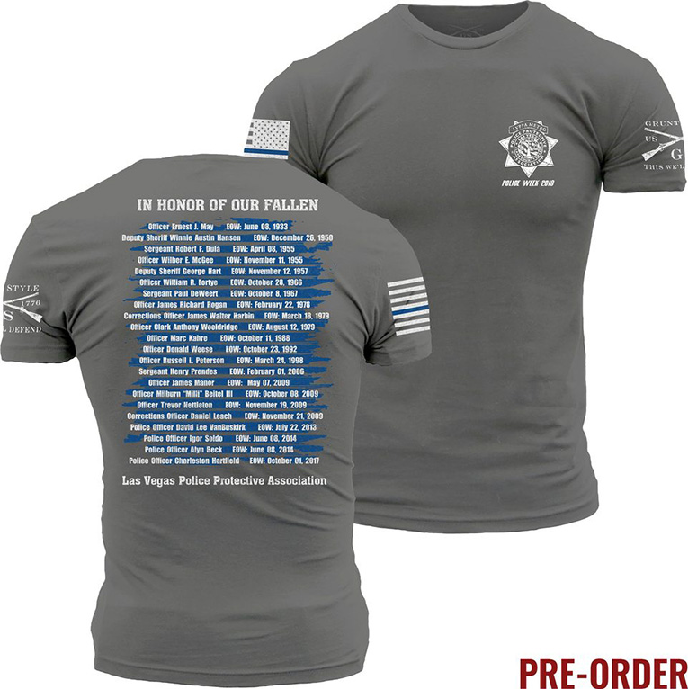special police week 2018 t-shirt